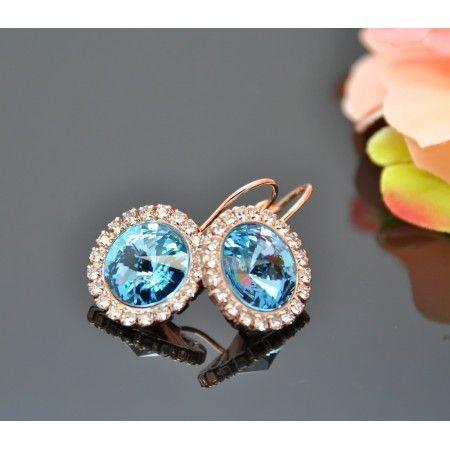 705e39bb5e7 Vincento Earrings with Swarovski Elements Rivoli VE-2355 - Ksenukai.lv
