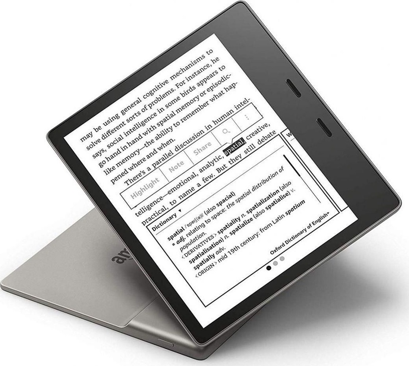 Elektroninė knygų skaityklė Amazon Kindle Oasis 3 Graphite, 32 GB