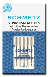 Siuvimo mašinų adatos Schmetz 130/705 H nr.80, 5 vnt