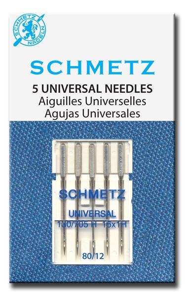 Õmblusmasina nõelad Schmetz 130/705 H80, 5 tk