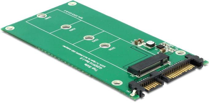 Delock Converter SATA 22 Pin / M.2 NGFF