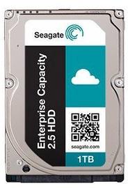 """Seagate Enterprise Capacity 1TB 512n 2.5"""" 7200RPM 128MB SATA ST1000NX0423"""