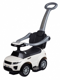 Funikids Sport Car Ride On With Holder And Sound White