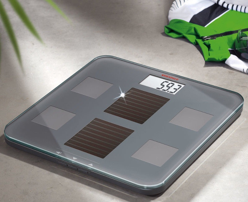 Soehnle Body Analyses Scales On Solar Batteries Solar Fit