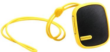 Belaidė kolonėlė Remax RB-X2MI Rubbred Bluetooth Music Box Yellow