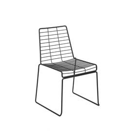 Valgomojo kėdė Haslam, juoda