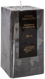 Home4you Candle Sensual Sandalwood 7.5x7.5xH15cm