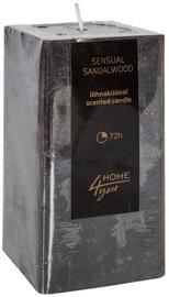Home4you Candle Sensual Sandalwood 7.5x7.5xH15cm