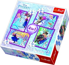 Пазл Trefl 4-in-1 Disney Frozen 2 34294, 35/48/54/70 шт.