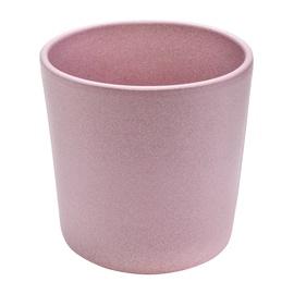 Горшок кер DOMOLETTI, CHARMS STRUCTUR, д 13, розовый