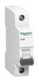 Automatinis jungiklis Schneider K60N, 1P, C, 4A, 6kA