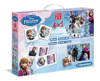 Žaidimų rinkinys Clementoni Frozen, 4 viename
