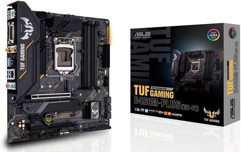 Mātesplate Asus TUF GAMING B460M-PLUS (WI-FI)