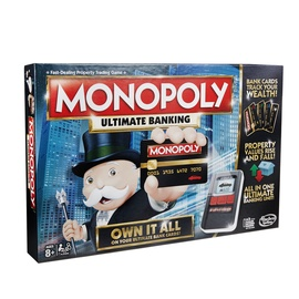 Hasbro Monopoly Ultimate Banking LV/EST
