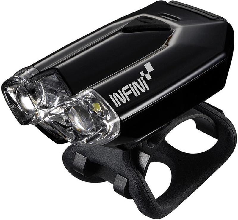 Велосипедный фонарь Infini Lava W Black USB Black