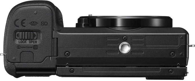 Sony Alpha A6100 Black + 16-50mm