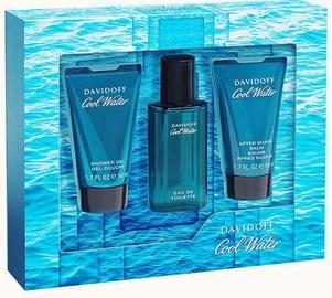 Davidoff Cool Water 40ml EDT + 50ml Shower Gel + 50ml Aftershave Balm