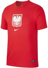 Nike Poland Tee Evergreen Crest CU9191 611 Red XXL