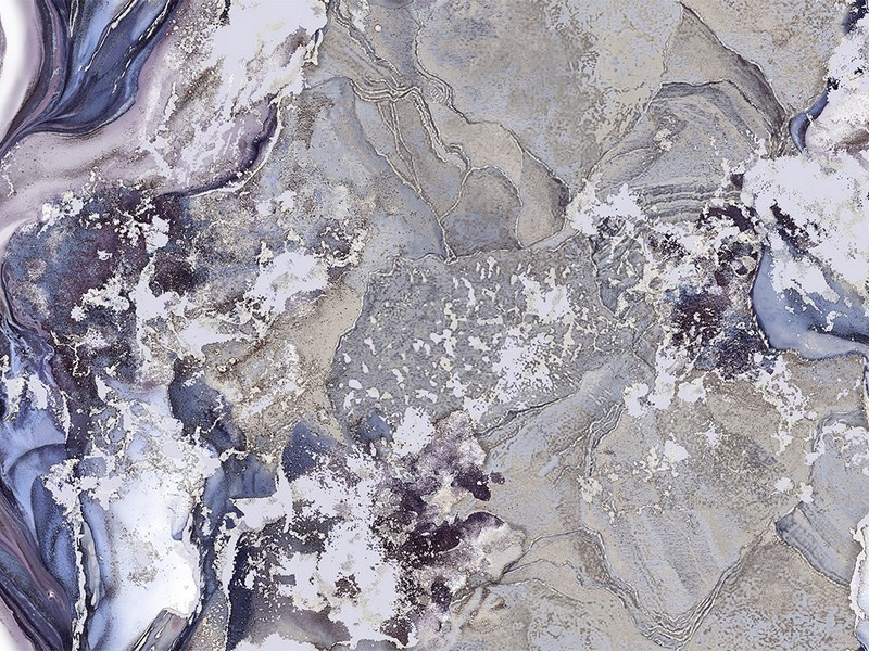 Tapetas flizelino pagrindu, Stenova,889414, Silicia, violetinis, marmuras