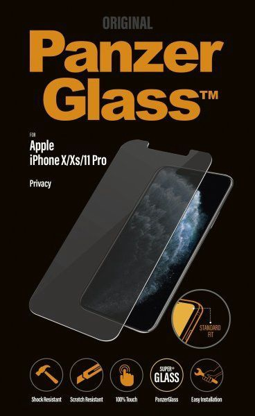 PanzerGlass Screen Protector With Privacy Filter For Apple iPhone X/XS/11 Pro