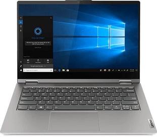"""Nešiojamas kompiuteris Lenovo ThinkBook 14s Yoga Gray 20WE0003MH Intel® Core™ i5, 16GB/256GB, 14"""""""