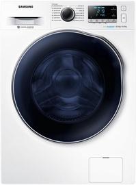 Skalbimo mašina - džiovyklė Samsung WD80J6A10AW/LE