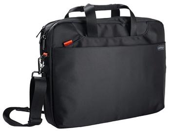 "Addison Hampton Notebook Bag 17.3"" Black"