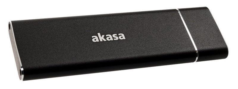Akasa External Enclosure USB 3.1 M.2 SSD Aluminum Black
