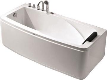 Vento FC-316A.L Acrylic Bath With Mixer 1700x800x600 Left