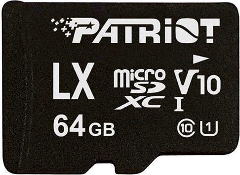 Patriot LX Series 64GB UHS-1 C10 V10