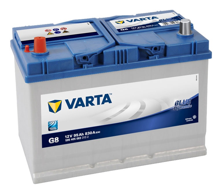 Аккумулятор Varta BD G8, 12 В, 95 Ач, 830 а