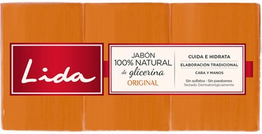 Lida Soap 3x125g Original
