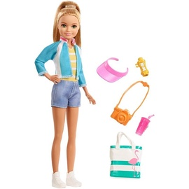Mattel Barbie Travel Stacie Doll FWV16