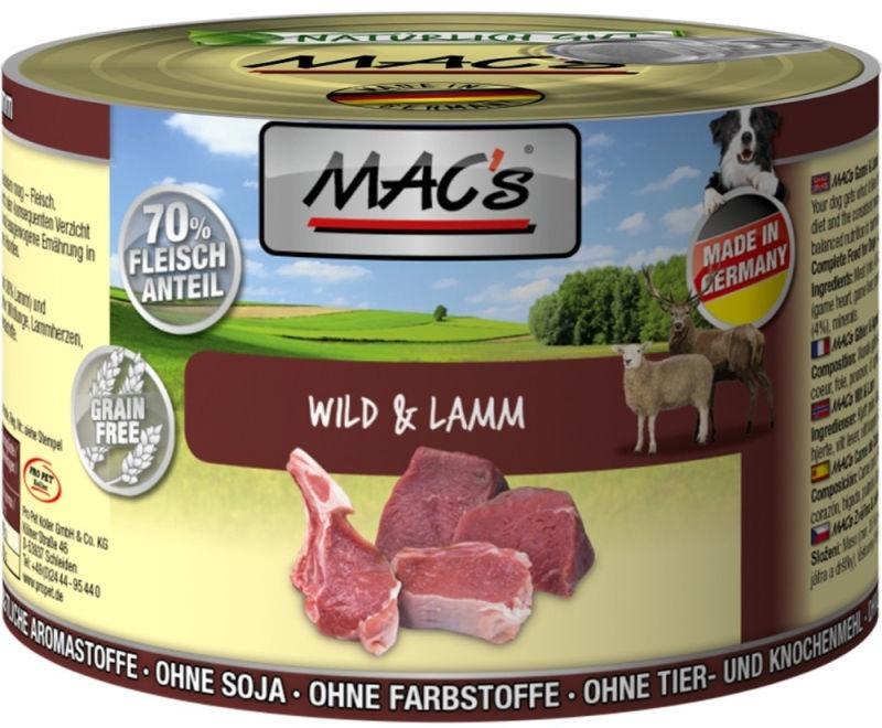 Mac's Game & Lamb 200g