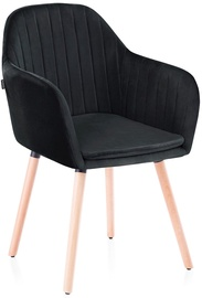 Homede Lacelle Chairs 2pcs Black