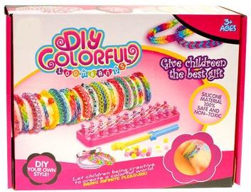 Apyrankių gaminimo rinkinys DIY Colorful Loom Bands