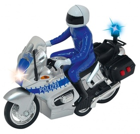 Dickie Toys Motor SOS Police Bike Silver