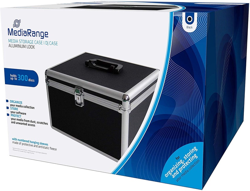 MediaRange DJ-Cases BOX72 for 300 Discs