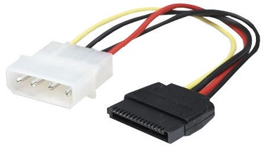 Manhattan Cable Molex to SATA 0.16m