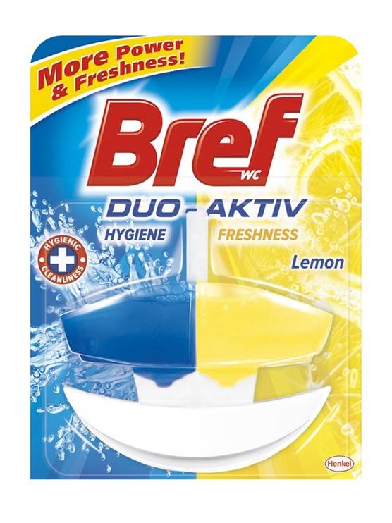 Henkel Bref Duo Activ Lemon Toilet Cleanser Gel 50ml