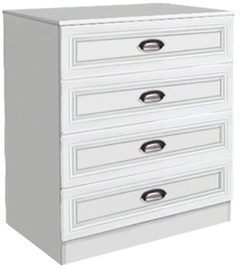 MN Klasika 7.06 Drawer Chest White