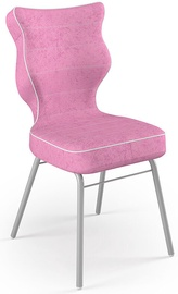 Детский стул Entelo Solo Size 5 VS08, розовый/серый, 390 мм x 850 мм