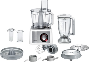 Bosch MultiTalent 8 Food Processor MC812S820 White/Silver