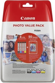 Canon Ink cartridge CLI-571XL Photo Value Pack C/M/Y/BK