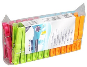 Coronet Laundry Pegs Plastic 25pcs