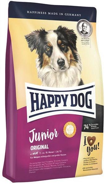 Сухой корм для собак Happy Dog Junior Original 10kg