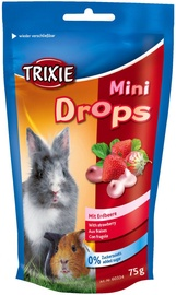 Trixie Mini Drops With Strawberry 75g
