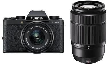 Fujifilm X-T100 + XC 15-45mm/f3.5-5.6 OIS PZ + XC 50-230mm f/4.5-6.7 OIS II Black