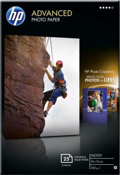 HP Advanced Photo Paper Glossy 100 x 150mm