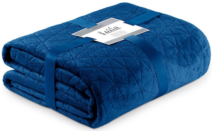 Gultas pārklājs AmeliaHome Laila Royal Blue, 220x240 cm